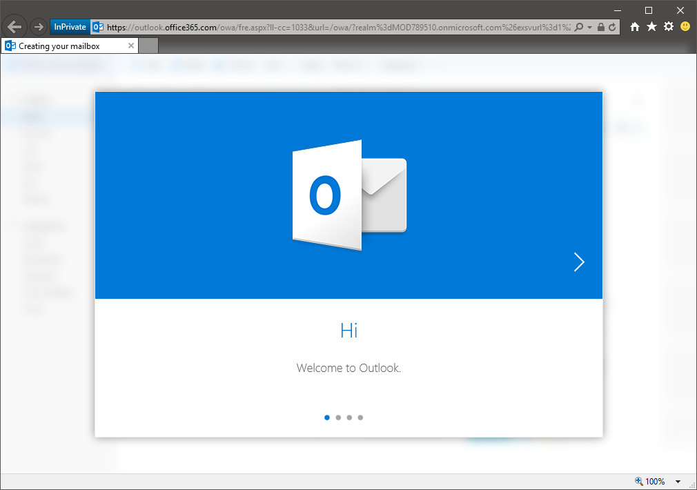 New OWA onboarding process in Office 365 | Blog