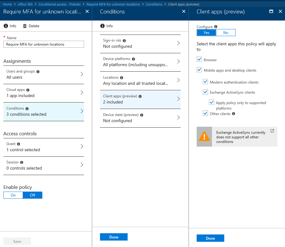 Blocking legacy authentication in Office 365 | Blog